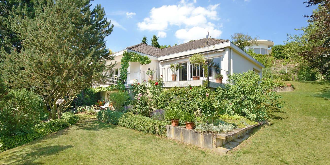 Bungalow EFH Einfamilienhaus Bad Honnef Bestlage Fernblick auf das Siebegebirge Garten