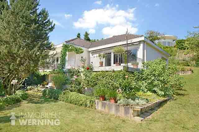 Ref.Nr.:8494 EFH Bad Honnef beste Lage Immobilien Werning Hanglage Fernblick auf Siebegebirge