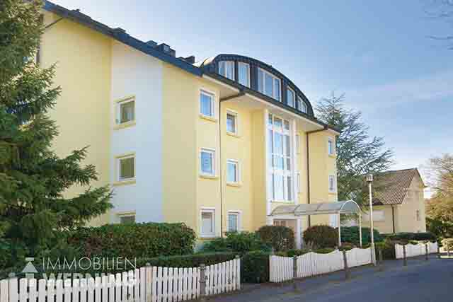 Ref.Nr.: 8549 Mietwohnung Penthouse in Bad Honnef zur Miete Immobilien Makler Immobilienmakler Balkonwohnung Sonnenbalkon Nizza am Rhein Wohnung zur Miete Maisonette Marmor Parkett