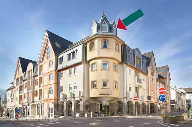 Ref.Nr.: 8548 Wohnung in Bad Honnef Zentrum zur Miete, Terrassenwohnung, großer Balkon, Parkettboden, Immobilienmakler Immobilien Werning
