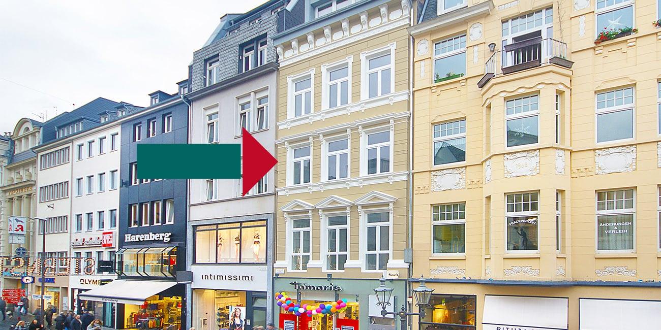 Mietwohnungen Büros Bonn Innenstadt Sternstraße 5