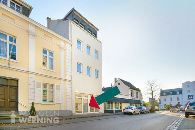 Büro Praxis mieten in Königswinter Zentrum Immobilien Werning Sanierter Altbau