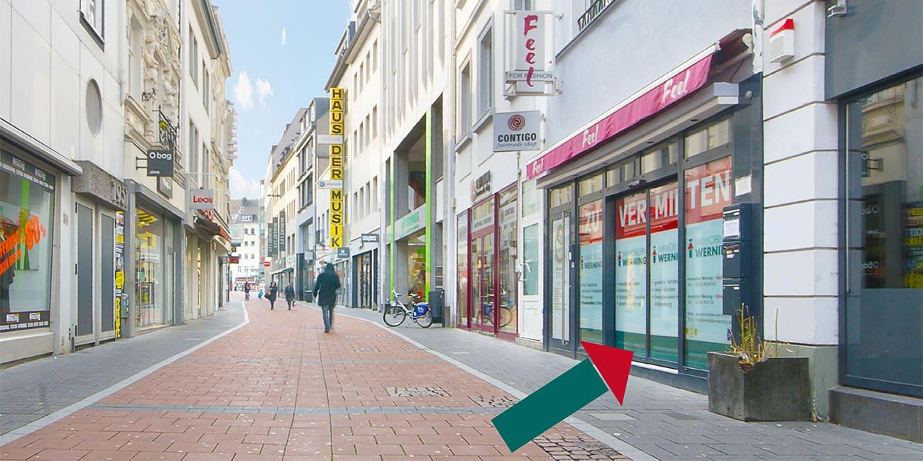 Ladenlokal in Bonn Innenstadt mieten Immobilien Werning