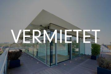 Vermietet: Hochwertige Penthousewohnung mit über 100qm Dachterrasse in Beuel 53227 Bonn, Maisonettewohnung