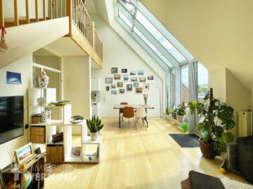Über den Dächern Beuels! Helle 3.5-Zimmer-Maisonettewohnung in Bestlage! 53225 Bonn, Maisonettewohnung